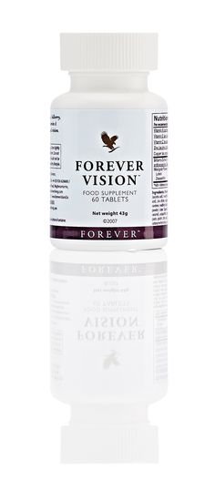 Say bye-bye to tired eyes and maintain your normal vision with Forever Vision containing nutrients like vitamin A and zinc.