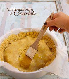 tarte pere e cioccolato