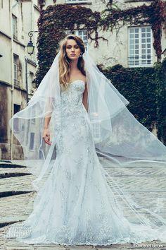 Sabrina Dahan Fall 2016 Wedding Dresses | Wedding Inspirasi