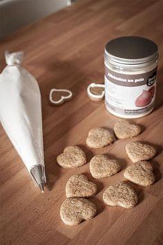 Cómo hacer glasa para decorar galletas con albúmina. Sorteo