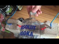 Cortando Garrafas com Resistência Elétrica | How to cut bottles of glass | Bottlecutting - YouTube