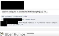 Gay ads | uberHumor.com - #humor #facebook