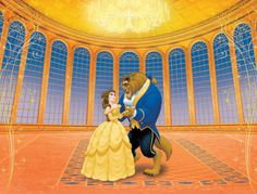1000 images about fairytale belle costumes on pinterest for Disney princess ballroom wall mural