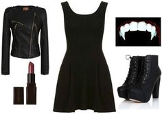 13 little black dress Halloween costume ideas-  they look simple but yet cute and creative....