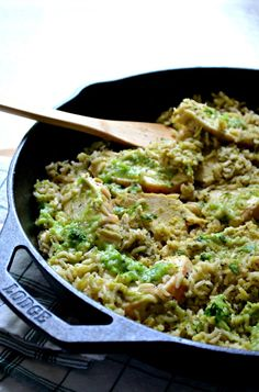 Salsa Verde Rice and Chicken (one pot meal) | Sarcastic Cooking