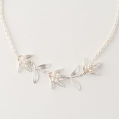 Michael Michaud Jewelry - Silver Flowering Myrtle Necklace