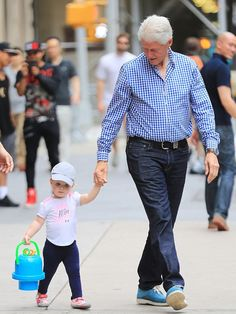 Bill with granddaughter Charlotte