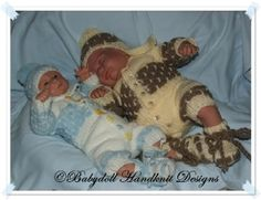 Brick Patterned Suit for Premature Babies-