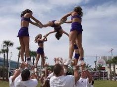 Cheerleading Fail Compilation! Pyramid Ideas for cheer WITHOUT the failing