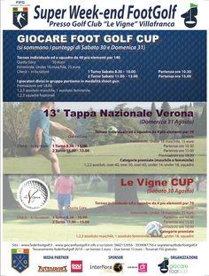 Super week-end #Footgolf a Verona (30/31 ago) 13° Tappa Nazionale del Campionato Italiano http://www.federfootgolf.it/super-week-end-footgolf-a-verona-3031-ago-con-tappa-nazionale/