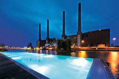 Let's go for a swim!  #Wolfsburg #Germany #Luxury #Travel