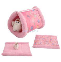 Cama del animal doméstico Cojín Almohadilla Perro Gato Kennel cálida y suave Cachorro Gatito Durmiendo Estera pequeño