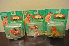 Disney Lion King Simba's Pride Kiara, Kovu, Simba, Pumbaa, Timon Cake Topper Toy #Mattel