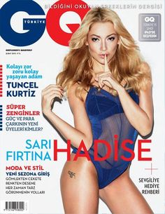 Hadise Açikgöz - GQ Magazine Cover [Turkey] (February 2013)