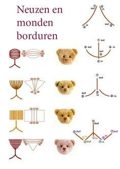 Ellence Bears: Neusje borduren