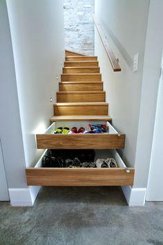 Escalier à chaussures !!!!