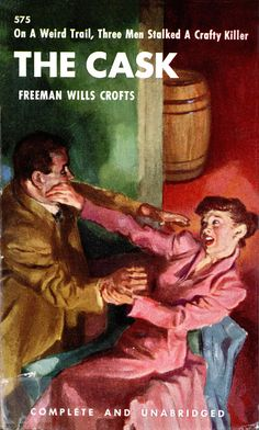 1946; The Cask by Freeman Wills Crofts. When N.A.L. (New American Library) took over the American Penguin in 1948 they published 6 original penguin paperbacks but with brand new Dust Jackets.  These paperbacks were: Penguin 503 Death of a Ghost Penguin 538 The laughing Fox Penguin 545 The talking Clock Penguin 575 The Cask Penguin 586 The Rasp Penguin 618 The Perennial Border