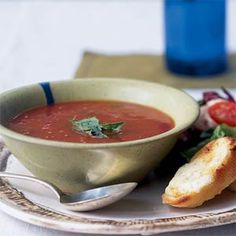 Tomato-Basil Soup Recipe
