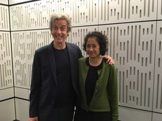 """kitt66: """" @SamiraAhmedUK: Fun fact about Peter Capaldi. People come up to him on the street & ask him swear abuse at them like Malcolm Tucker. Peter doing press today. """""""