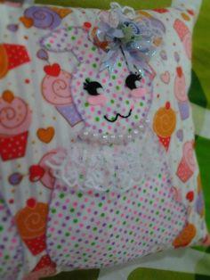 Bride Bunny Applique by Aina Hafizah