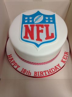 NFL Centrepiece NFL Birthday Pinterest Birthdays