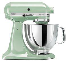 Amazon.com: KitchenAid KSM150PSAQ Stand Mixer, Martha Stewart Blue Collection Artisan 5 Qt. Aqua Sky: Appliances. Color: Pistachio