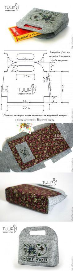 Клатч-«складч» своими руками...♥ Deniz ♥