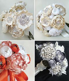 Fun bridal bouquets http://www.lovelybride.com/blog/index.php/2011/01/24/your-not-so-traditional-bouquet/