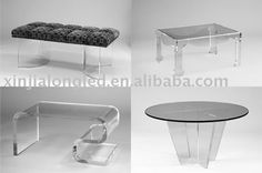 Mutil-shaped clear acrylic bench, acrylic chair ,perspex furniture $25.89~$120.00