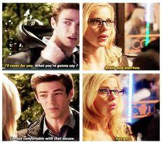 The Flash - Felicity Smoak & Barry Allen #1.4 #Season1