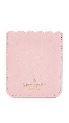 Kate Spade New York Scallop Sticker Phone Pocket
