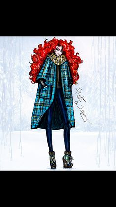 Merida - Brave  Disney Christmas 2014 Hayden Williams