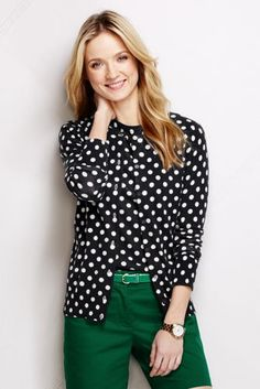 Women's+Supima+Print+Cardigan+Sweater+from+Lands'+End