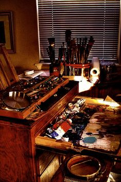 The Tools of a Painter...inspiring!