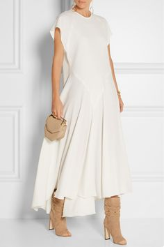 Ellery | Ziggy stretch-crepe midi dress | NET-A-PORTER.COM