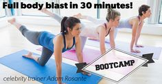 Body Weight Bootcamp Workout - Eat. Fit. Fuel.