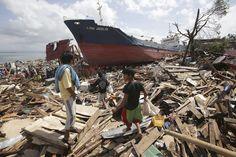 Los escombros inundan el país. (Foto: AP)