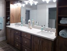 Kitchen And Bath Remodel Salt Lake City - A bathroom is most likely the main room of a home, particularly when it comes to th Custom Countertops, Granite Countertops, Kitchen And Bath Remodeling, Jack And Jill Bathroom, Bathroom Cabinets, House Plans, Lake City, House Styles, Salt