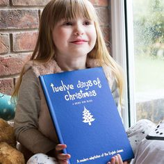 Personalised 12 days of Christmas Hardback Book - Buy from Prezzybox.com