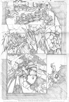 Warcraft comics2 pencils 5 by LudoLullabi.deviantart.com on @deviantART