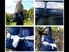 Les sacs en jeans sont toujours à la mode. Ils sont parfaits pour les occasions décontractées. En plus d'être jolie, vous pouvez fabriquer vos propres