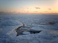 Baltic sea at winter #baltic