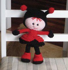 Ravelry: sammy-cat's Ladybug doll #littleowlshut #crochetpattern #amigurumi #amigurumidolls #doll #stelmakhova_galina #crochetpattern #crochetlove #amigurumi #littleowlshut #Patterns #Crochet #etsy #handmade #crochettoys #crocheting #handcrafted #handcraft #knittersofinstagram #crochetaddict #crochetdoll #Stelmakhova #crochetingisfun #craftastherapy #crocheteveryday #crochetlover #amigurumilove #ladybird #ilovecrochet #ladybug #insect