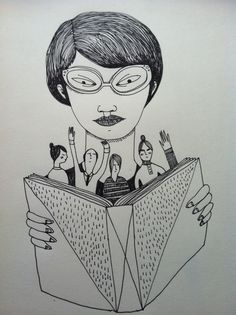 Reading #illustration