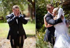 Adorable groom reactions (13 photos)