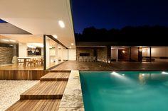 Moderne Villa auf Griechenland mit gigantischem Pool