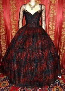 1950's Ball gown.  It may be old but this is absolutely gorgeous!!