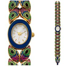 French Couture Peacock Watch from the Metropolitan Museum of Art Store, New York.
