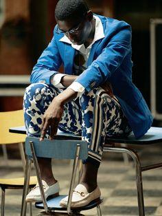 bike fashion, bike fashion for men, fashion for men, menswear, suit, african print, louis vuitton