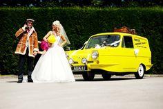 Unique wedding transportation - Del Boys Van Hire